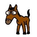 Kan du se hesten?
