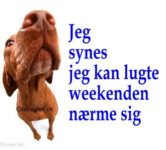 godt weekend