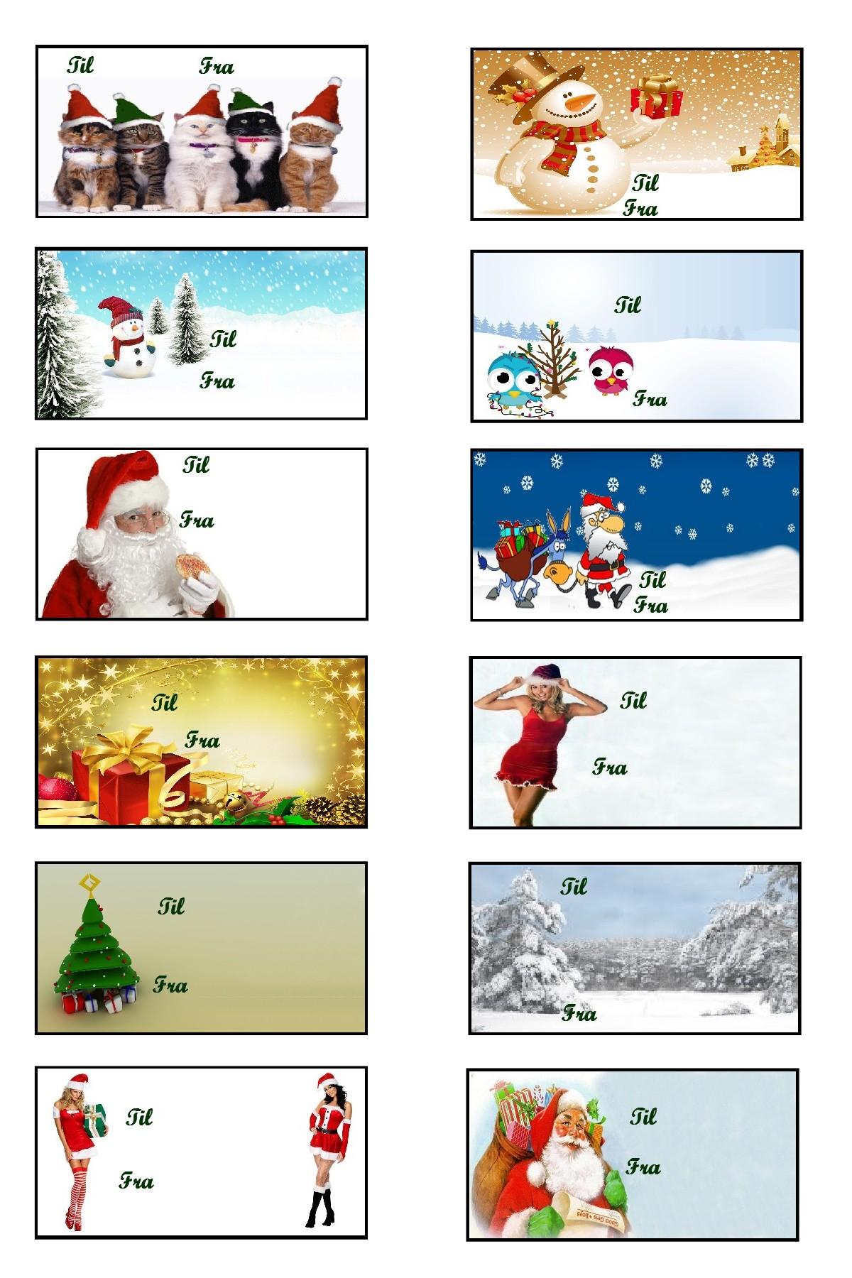 julegavekort