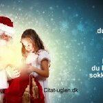 Den dag du stopper med at tro på Julemanden